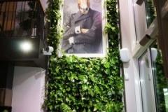 ogrod pionowy w restauracji
