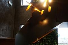 ogrod wertykalny na schodach