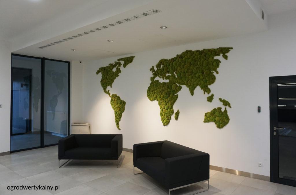 mapy z mchu