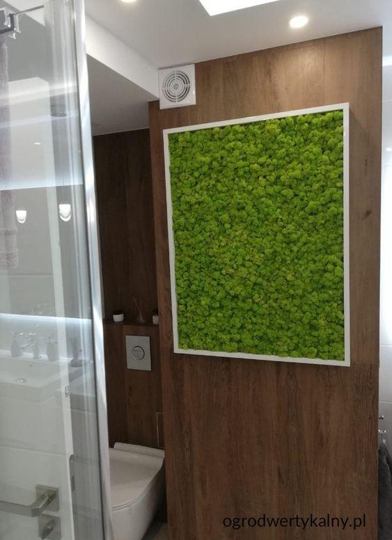 zielony obraz z mchu